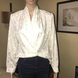 Vintage 80s blouse.